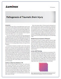 Pathogenesis of Traumatic Brain Injury